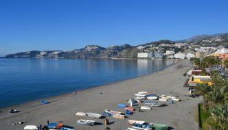 Playa San Cristobal de Almuñecar