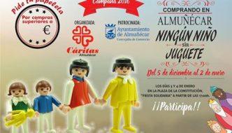 Campaña solidaria Ningún Niño Sin Juguete en Almuñécar