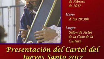 Cartel 2017 de la Cofradía del Nazareno de Almuñécar