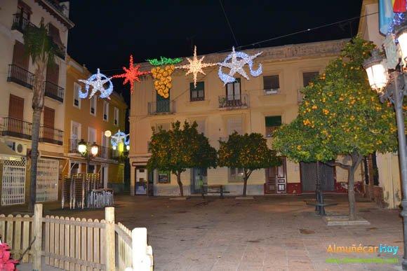 Alumbrado de Navidad en Almuñécar 2011