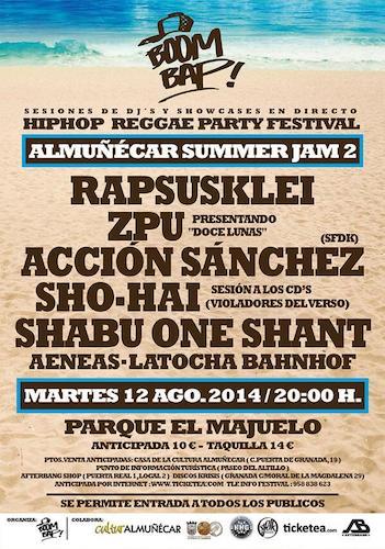 Almuñécar Summer Jam Festival 2014
