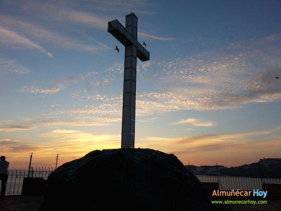 Atardecer en el Peñón del Santo de Almuñécar