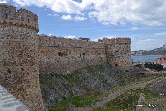 Torres del Castillo San Miguel de Almuñécar
