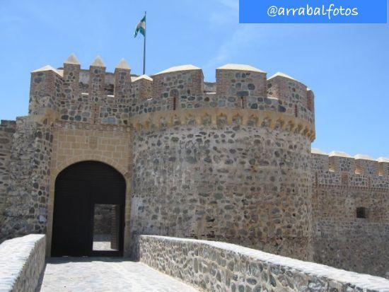 Entrada actual al Castillo de Almuñécar