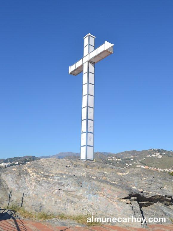 Cruz del Peñón del Santo de Almuñecar