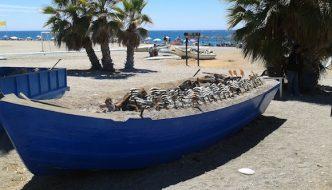 El Piliki, Espetos de sardinas en Almuñécar