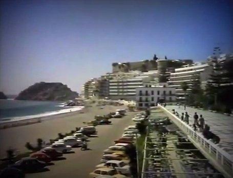 Paseo de Almuñécar en los años 70
