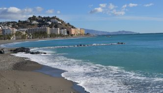 Playa Puerta del Mar en Almuñecar