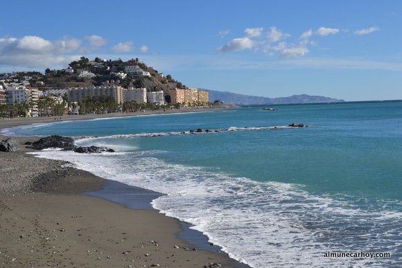 Playa Puerta del Mar de Almuñecar