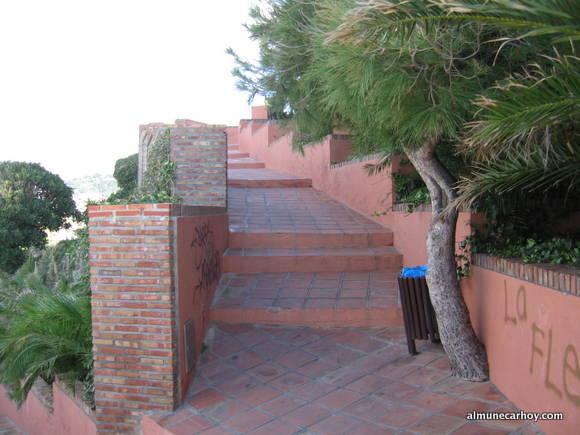 Rampas de Subida al Peñón del Santo de Almuñecar