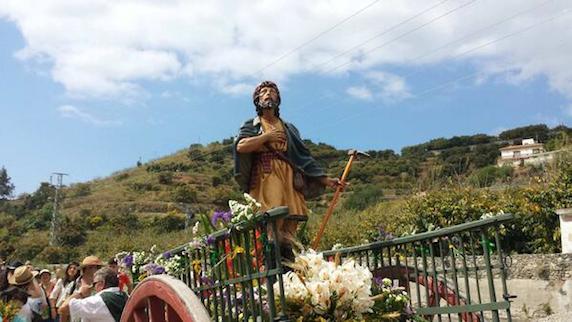 III Romería de San Isidro, camino de Torrecuevas.