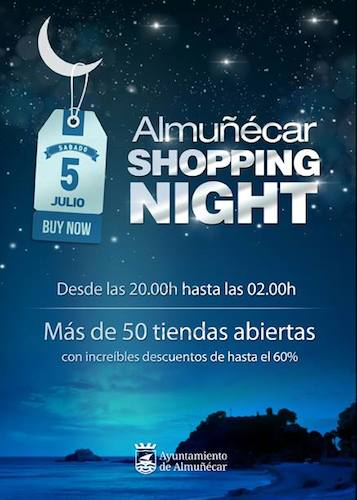 "Almuñécar ""shopping night"" 2014"