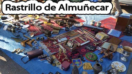 Todos los Domingos en Almuñécar Rastrillo de Antigüedades y otros Cachivaches