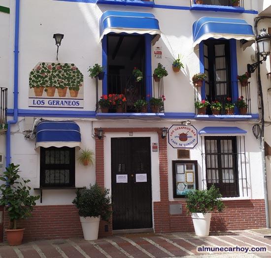 Restaurante Los Geraneos Almuñécar