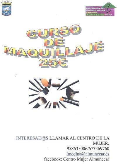 Curso de maquillaje en Almuñecar