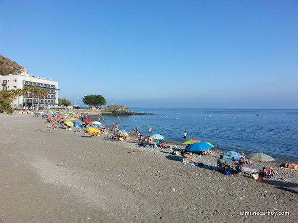 Playa de Cotobro en Almuñecar