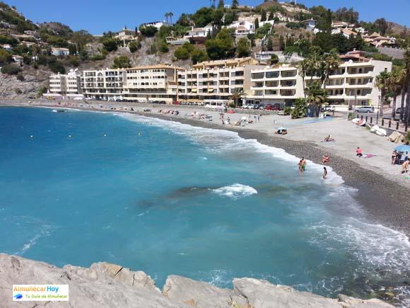 Playa Cotobro en Almuñecar