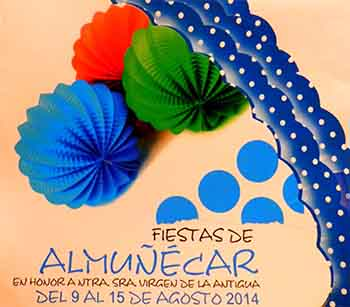 Programa completo de las actividades de la Feria de Almuñécar (Libro de la Feria de Almuñécar 2014)