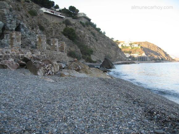 Pasillo de la playa de Cotobro a la playa de El Muerto
