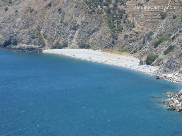 Vista de la Playa de El Muerto desde Cotobro