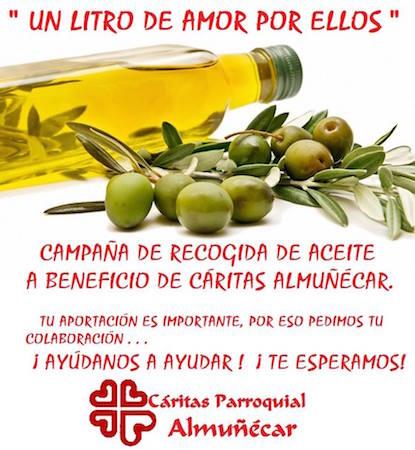 Aceite para Caritas Almuñecar