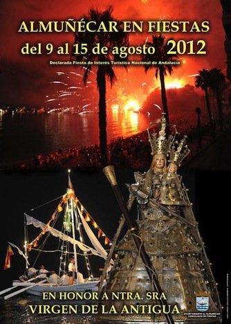 Cartel de la Feria de Almuñécar 2012