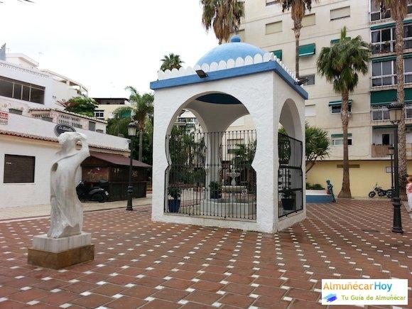 Plaza de Damasco en Almuñécar (Octubre 2014)
