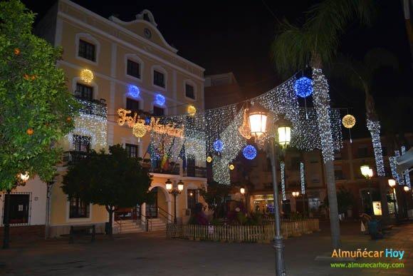 Plaza de la Constitución de Almuñécar, Navidad 2012