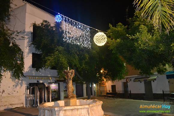 Plaza de los Higuitos, Navidad 2012 en Almuñécar