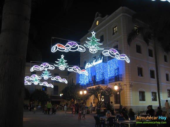 Plaza del Ayuntamiento - Navidad 2010 en Almuñécar