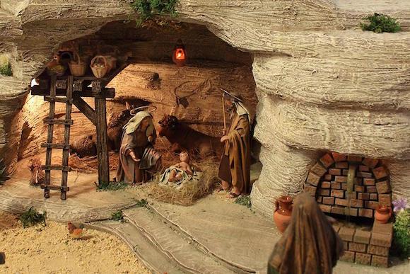 Belén de la Cofradía del Nazareno de Almuñécar