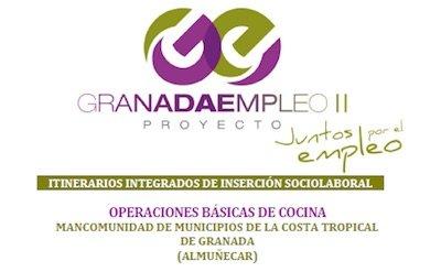 curso gratis de Operaciones Básicas de Cocina en Almuñécar