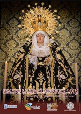 Cartel de la Semana Santa de Almuñécar 2015