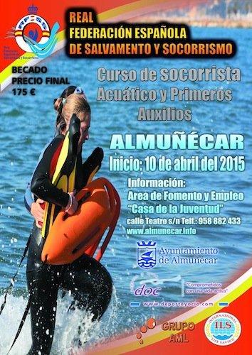 curso de socorrista y primeros auxilios en Almuñécar