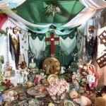 Cruz de la Cofradía Oración del Huerto, situada en la placeta de la Rosa, primer premio 2015