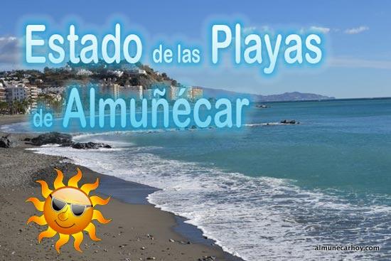 Información del Estado de las playas de Almuñécar