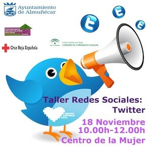 Curso sobre la red social twitter en Almunecar