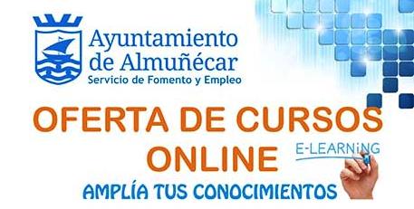 Nuevos cursos online del Ayuntamiento de Almuñécar