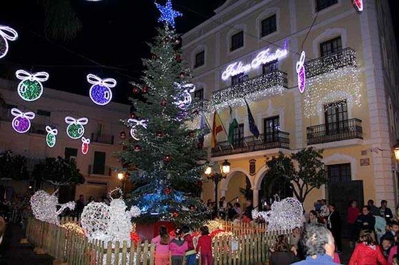 Alumbrado de Navidad de Almuñécar de 2015