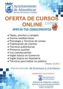 Cursos gratis on line en Almuñécar
