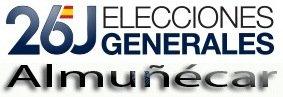 Resultados de las Elecciones Generales 2016 en Almuñécar
