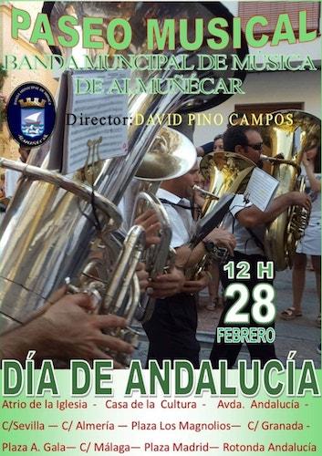 Día de Andalucía en Almuñécar