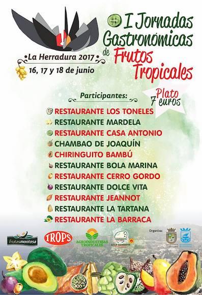 Jornadas Gastronómicas de Frutos Tropicales de La Herradura