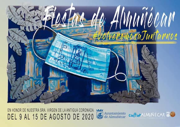 Feria de Almuñécar 2020, cartel diseñado por Jorge Marín Montoya