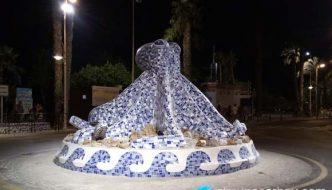 Monumento al Pulpo de Almuñécar