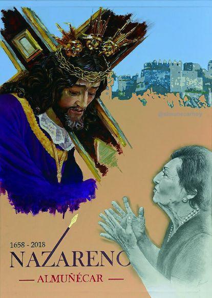 Cartel Real Cofradía Nazareno de Almuñécar