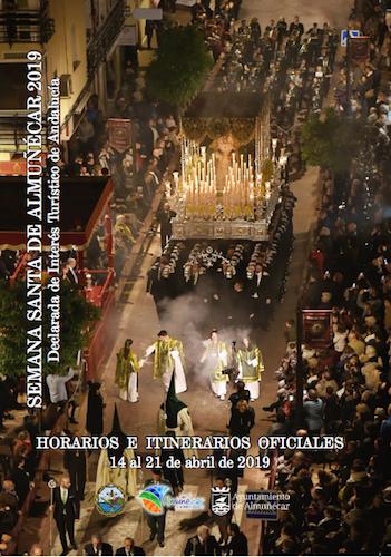Semana Santa de Almuñécar 2019 - Horarios de las procesiones