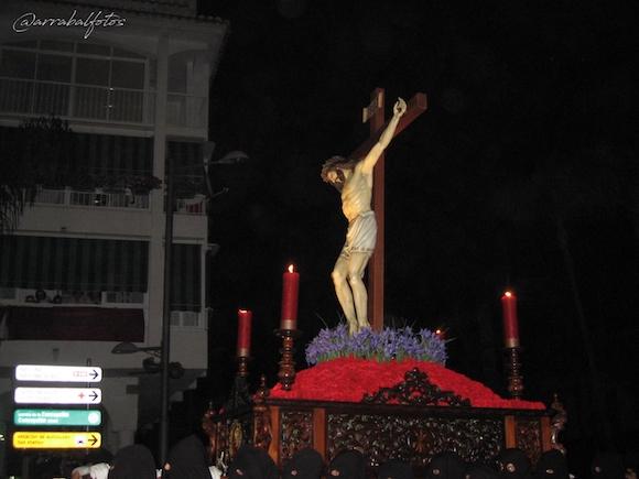 Cristo del Silencio de la Cofradía del Santísimo Cristo de la Expiración (El Silencio) de Almuñécar