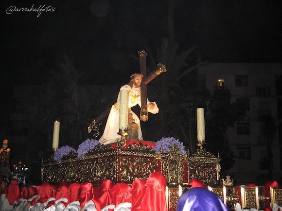 Cristo del perdón de la Cofradía del Santísimo Cristo del Perdón, María Santísima del Consuelo, Ntra. Sra. del Carmen, Santas Verónica y María Magdalena de Almuñécar
