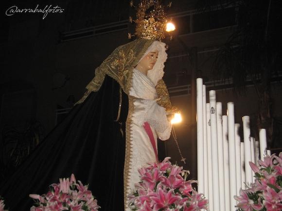 Santa María del Alba de la Cofradía del Descendimiento y Santa María del Alba (Cristo del Castillo) de Almuñécar